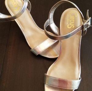 Metallic Strappy Heel size 10